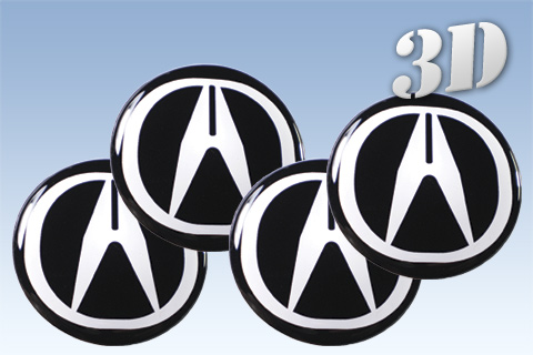 ACURA D Car Decals For Wheel Center Caps Online Shop D Wheel - Acura decals