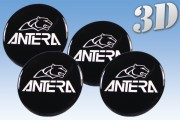ANTERA 3D decals for wheel center caps