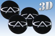 CHERY 3d car decals for wheel center caps