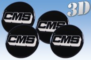 CMS 3D decals for wheel center caps