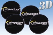 EMOTION 3D decals for wheel center caps