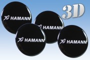HAMANN 3d car decals for wheel center caps