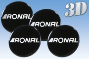 RONAL 3D decals for wheel center caps
