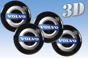 VOLVO 3d car decals for wheel center caps